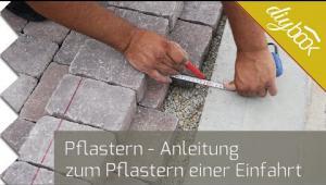 Embedded thumbnail for Garageneinfahrt Pflastern