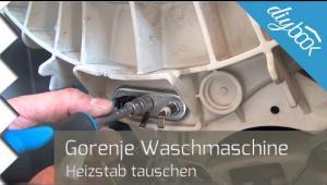 Embedded thumbnail for Gorenje-Waschmaschine: Heizstab austauschen
