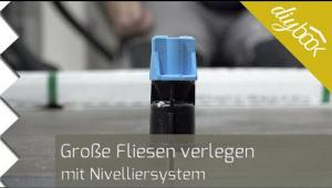 Embedded thumbnail for Große Fliesen verlegen